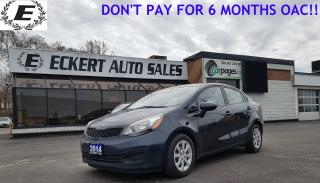 Used 2014 Kia Rio LX+ ECO  GREAT PRICE LOW KMS for sale in Barrie, ON