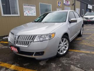 Used 2010 Lincoln MKZ HEATED LEATHER SEATS-POWER SEAT-ALLOY WHEELS for sale in Tilbury, ON