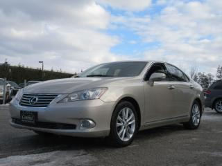 Used 2010 Lexus ES 350 LEATHER / MOON ROOF / ACCIDENT FREE for sale in Newmarket, ON