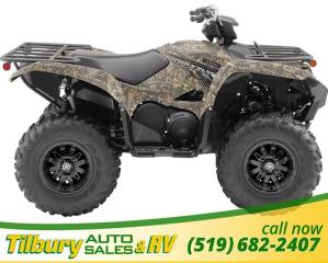 Used 2019 Yamaha GRIZZLY EPS 686cc, Liquid-cooled, SOHC, single engine for sale in Tilbury, ON