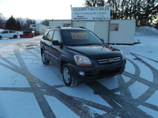 Used 2008 Kia Sportage AWD   EX for sale in Elmvale, ON