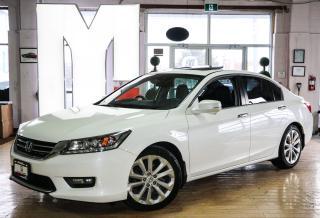 Used 2014 Honda Accord Touring - BACKUP|NAVI|SIDECAM|LANEKEEP for sale in North York, ON