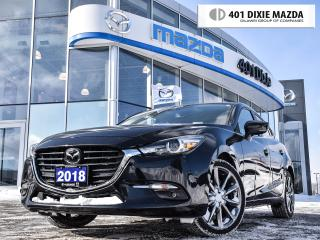 Used 2018 Mazda MAZDA3 Sport GT-Premium, 1.9% FINANCE AVAILABLE, NO ACCIDENTS for sale in Mississauga, ON