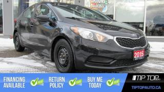 Used 2015 Kia Forte LX ** Well Equipped, Fuel Efficient, Affordable ** for sale in Bowmanville, ON