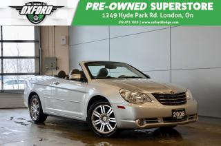 Used 2008 Chrysler Sebring Limited - always garaged stored, exceptionally wel for sale in London, ON