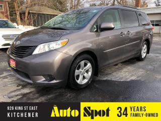 Used 2012 Toyota Sienna CE/CLEAN TITLE/PRICED-QUICK SALE! for sale in Kitchener, ON