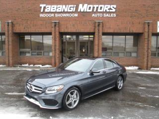Used 2015 Mercedes-Benz C-Class C300 4MATIC | NAVIGATION | A.M.G | SUNROOF | LEATHER for sale in Mississauga, ON