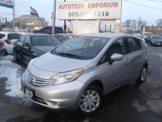 Used 2015 Nissan Versa Note SV Camera/Bluetooth/Keyless &ABS*39/wkly for sale in Mississauga, ON