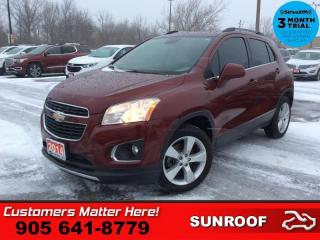 Used 2014 Chevrolet Trax LTZ  AWD LEATH ROOF CAM BOSE HS 7