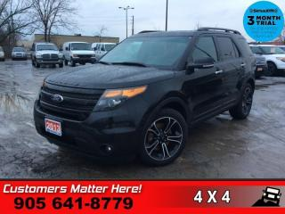 Used 2013 Ford Explorer Sport  NAV PANO-ROOF CS/HS CAM P/GATE 7-PASS for sale in St. Catharines, ON