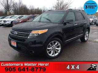 Used 2014 Ford Explorer Limited  NAV ROOF CS/HS MEM CAM P/GATE REAR-AC 7-PASS for sale in St. Catharines, ON