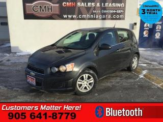 Used 2014 Chevrolet Sonic LT  BT HEATED SEATS ALLOYS PWR-GRP for sale in St. Catharines, ON