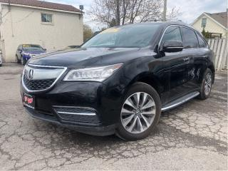 Used 2016 Acura MDX Navigation | AWD |Leather |Sunroof for sale in St Catharines, ON
