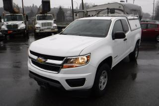 Used 2016 Chevrolet Colorado Work Truck Ext. Cab 2WD with Service Canopy for sale in Burnaby, BC