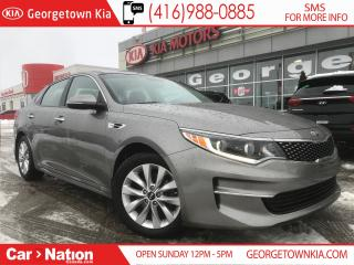 Used 2016 Kia Optima EX LUXURY| LEATHER| ROOF| ONE OWNER| LIKE NEW for sale in Georgetown, ON
