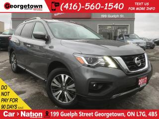 Used 2017 Nissan Pathfinder SV | 4X4 | 7 PASS | BU CAM | HTD SEATS | BLUETOOTH for sale in Georgetown, ON