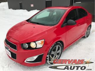 Used 2015 Chevrolet Sonic Rs Turbo Cuir for sale in Trois-Rivières, QC
