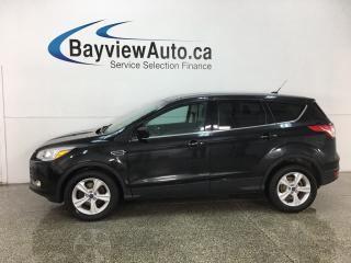 Used 2014 Ford Escape - SYNC! ECOBOOST! REVERSE CAM! HTD SEATS! ALLOYS! for sale in Belleville, ON