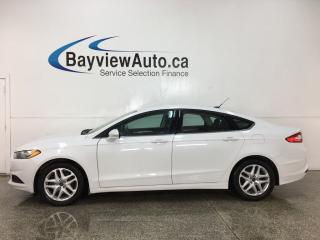 Used 2015 Ford Fusion - SYNC! REVERSE CAM! A/C! CRUISE! ALLOYS! for sale in Belleville, ON