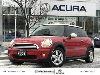 Used 2009 MINI Cooper Classic Winter Tires Avail, Heated Seats, Bluetooth for sale in Markham, ON
