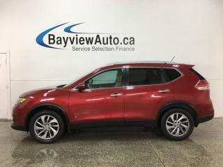 Used 2015 Nissan Rogue SL - AWD! PANOROOF! PUSH START! BSA! BOSE SOUND! PWR LIFTGATE! for sale in Belleville, ON