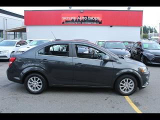 Used 2018 Chevrolet Sonic 4dr Sdn Auto LT for sale in Surrey, BC