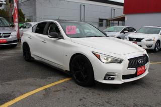 Used 2015 Infiniti Q50 4DR SDN AWD for sale in Surrey, BC
