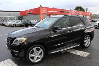 Used 2015 Mercedes-Benz ML-Class 4MATIC 4dr ML 350 BlueTEC for sale in Surrey, BC