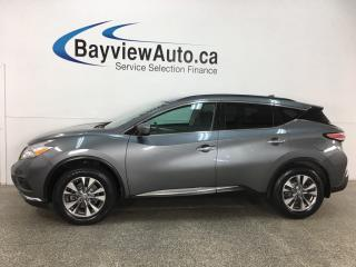 Used 2017 Nissan Murano SV - AWD! NISSAN CONNECT! PANOROOF! NAV! REMOTE START! ALLOYS! for sale in Belleville, ON