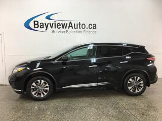 Used 2015 Nissan Murano SL - AWD! HTD LTHR! PANOROOF! BSA! REVERSE CAM! BOSE SOUND! for sale in Belleville, ON
