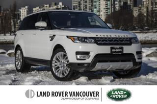 Used 2016 Land Rover Range Rover Sport Diesel Td6 HSE *Certified Pre-Owned Warranty! for sale in Vancouver, BC