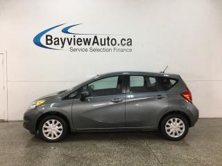Used 2016 Nissan Versa Note 1.6 SV - BLUETOOTH! REVERSE CAM! CRUISE! A/C! PWR GROUP! for sale in Belleville, ON