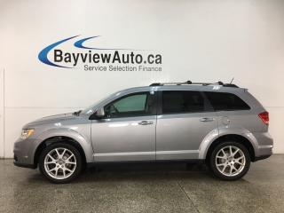 Used 2018 Dodge Journey GT - AWD! DVD! HTD LTHR! NAV! SUNROOF! 3 ZONE CLIMATE! for sale in Belleville, ON