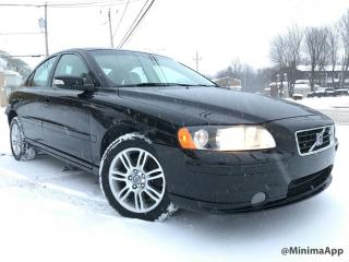 Used 2009 Volvo S60 200 hp, awd, toit ouvrant for sale in Drummondville, QC