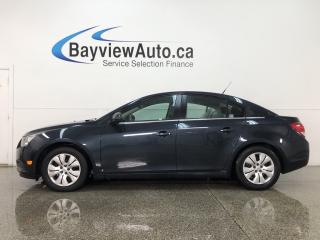 Used 2014 Chevrolet Cruze 1LT - ONSTAR! A/C! CRUISE! REMOTE START! PWR GROUP! for sale in Belleville, ON