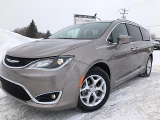 Used 2018 Chrysler Pacifica Touring-L Plus Loaded! BlueRay x2, Heated Steering, Heated 2nd Row, Panorama Roof and Leather! for sale in Kemptville, ON