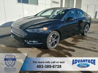 Used 2018 Ford Fusion Titanium AWD - Leather Heated / Cooled - remote start for sale in Calgary, AB