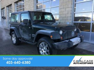Used 2011 Jeep Wrangler SPORT for sale in Calgary, AB
