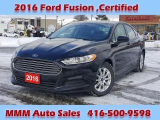 Used 2016 Ford Fusion 4DR SDN S FWD for sale in Scarborough, ON