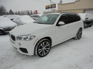 Used 2014 BMW X5 xDrive35d-M Sport-Diesel-Cuir-Toit-7Pass for sale in Laval, QC