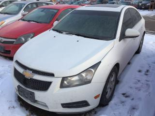 Used 2014 Chevrolet Cruze 2LT for sale in Alliston, ON
