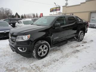 Used 2018 Chevrolet Colorado Z71-CREW-4X4-GPS-V6-Rack a vendre for sale in Laval, QC