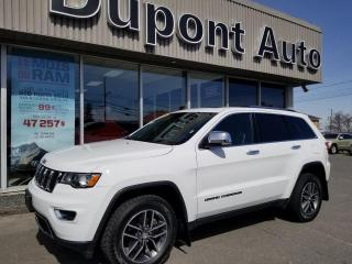 Used 2018 Jeep Grand Cherokee Jeep Gr Cherokee Limited 4x4 for sale in Alma, QC