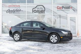 Used 2012 Chevrolet Cruze LT turbo ***BAS KILOMÉTRAGE*** for sale in Québec, QC