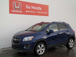 Used 2013 Chevrolet Trax LTZ, LEATHER, AWD for sale in Edmonton, AB