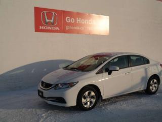 Used 2015 Honda Civic SEDAN LX for sale in Edmonton, AB