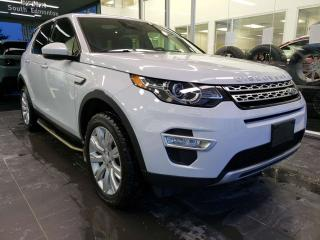 Used 2016 Land Rover Discovery Sport HSE LUXURY, HEATED SEATS, NAVI, SUNROOF for sale in Edmonton, AB