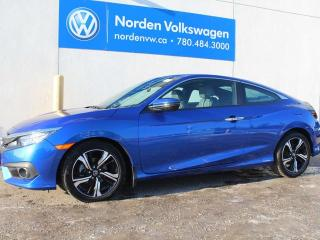 Used 2016 Honda Civic COUPE Touring for sale in Edmonton, AB