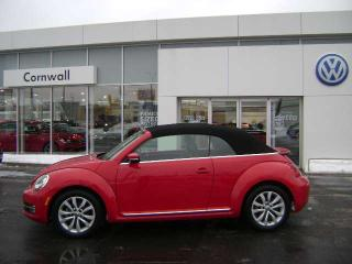 Used 2015 Volkswagen Beetle Convertible Comfortline 2dr FWD Convertible for sale in Cornwall, ON