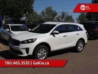 New 2019 Kia Sorento EX 2.4L AWD; 7 PASSENGER, PUSH START, LEATHER HEATED SEATS/WHEEL, BACKUP CAMERA, BLUETOOTH, ANDROID AUTO/APPLE CAR PLAY for sale in Edmonton, AB